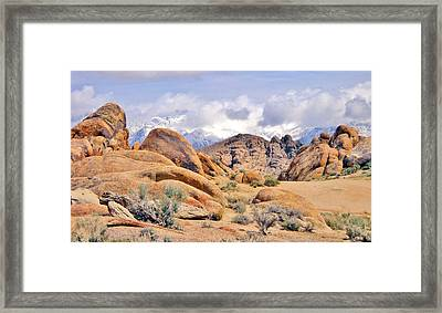 Framed Print featuring the photograph Stoned by Marilyn Diaz