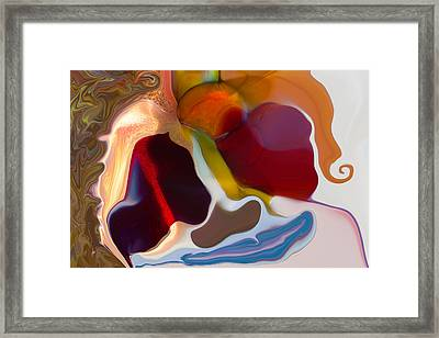 Framed Print featuring the painting Stoned by Omaste Witkowski