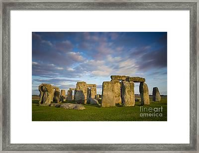 Stonehenge Framed Print by Brian Jannsen