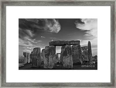 Stonehenge Historic Monument Framed Print