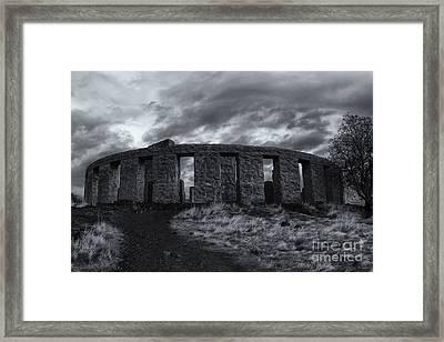 Stonehenge Of America Framed Print