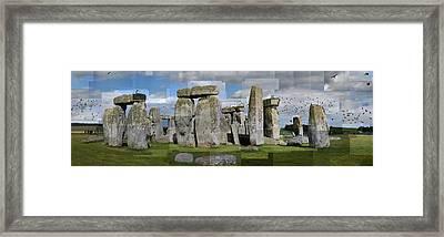 Stonehenge Framed Print