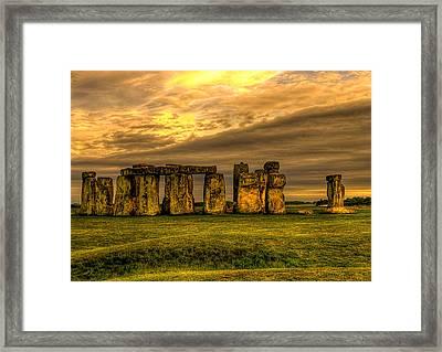 Stonehenge Framed Print by Svetlana Sewell