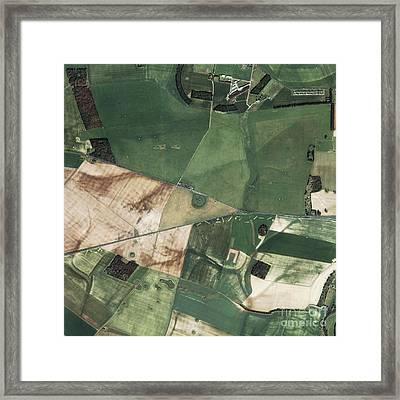 Stonehenge, United Kingdom Framed Print by GeoEye