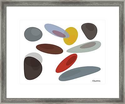 Stones Di Framed Print