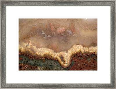 Stonescape Framed Print by Leland D Howard