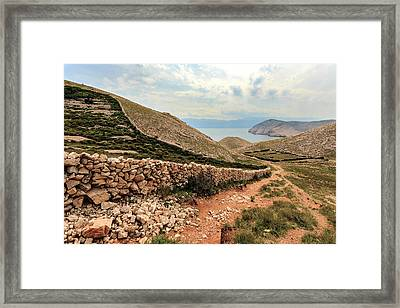 Stonewall Framed Print by Davorin Mance