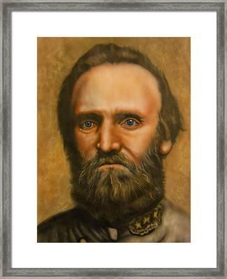 Stonewall Jackson Framed Print by Scott Whitter