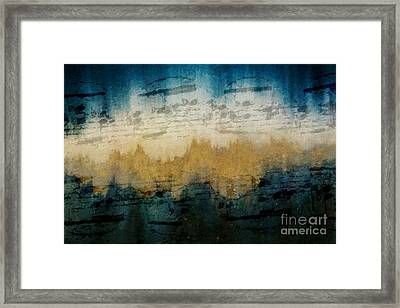 Stonewashed Blue Framed Print