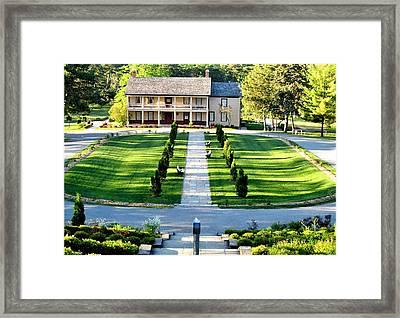 Stoney Creek Battlefield House Framed Print by Danielle  Parent