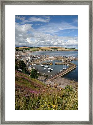 Stonhaven Harbour  Scotland Framed Print by Jeremy Voisey