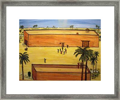 Stoning Of Saint Stephen Framed Print