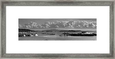 Stonington Harbor Framed Print