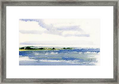 Stonington Point East Framed Print