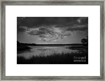 Stony Brook Bay Framed Print by Paul Cammarata