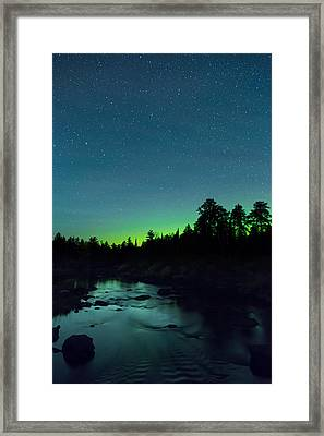 Stony River Stars Framed Print by Adam Pender