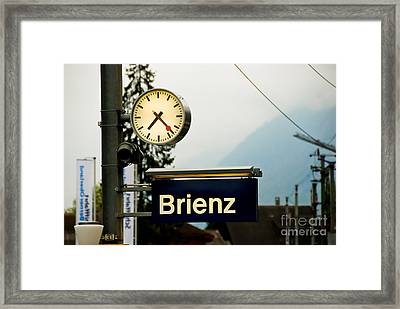Stop Time With Art Framed Print by Syed Aqueel