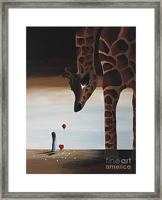 Stop To Love By Shawna Erback Framed Print by Shawna Erback