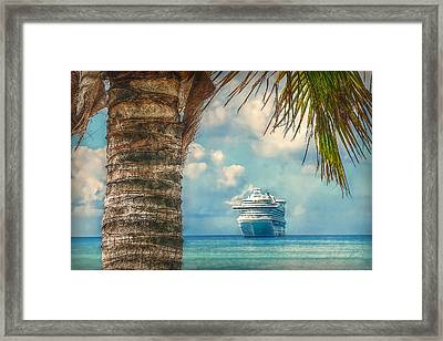 Stopover In Paradise Framed Print by Hanny Heim