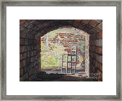 Stopped In Time Framed Print by Lynette Cook