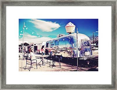 Stopping For A Treat Framed Print by Kristina Deane