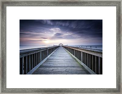 Stopping For The Big Stopper Framed Print