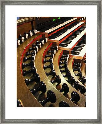Stops And Manuals Framed Print