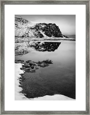 Stora Dimon Reflection Framed Print
