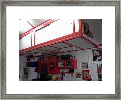 Storage Loft In Studio Framed Print