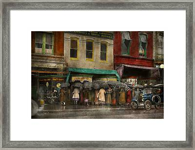 Store - Big Sale Today - 1922 Framed Print by Mike Savad