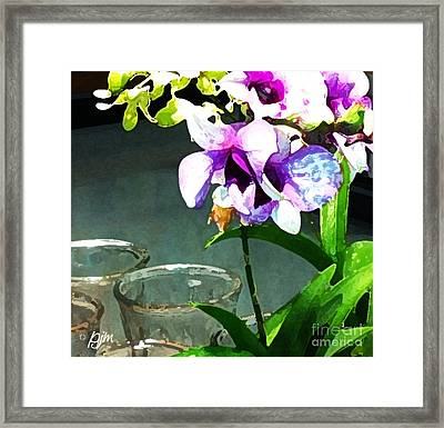 Framed Print featuring the photograph Store Bought Flowers by Phil Mancuso