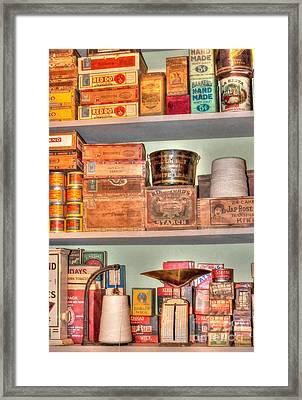 Store - General Store Framed Print by Liane Wright