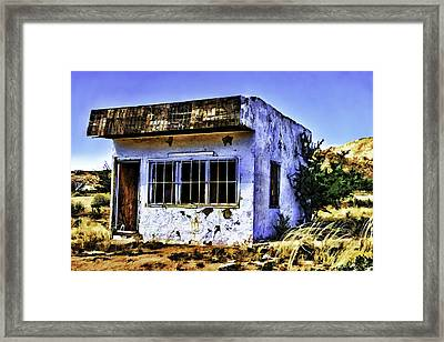 Framed Print featuring the painting Store by Muhie Kanawati