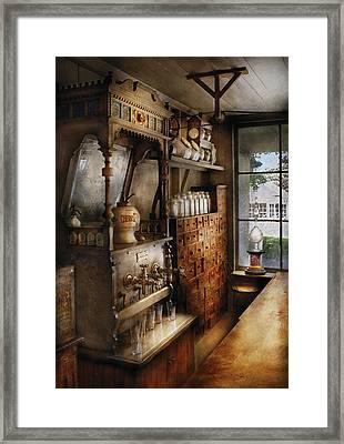 Store - Turn Of The Century Soda Fountain Framed Print
