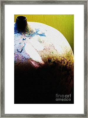 Storing For The Future Framed Print by Kandayia Ali