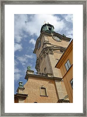 Storkyrkan Cathedral I Framed Print