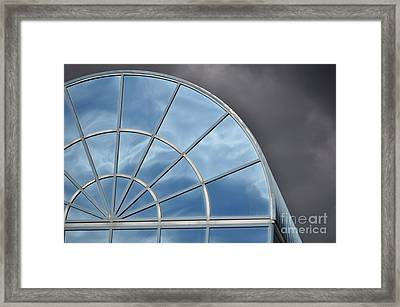Storm And The Sky Framed Print