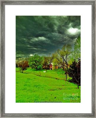 Storm Anticipation Framed Print by PainterArtist FIN