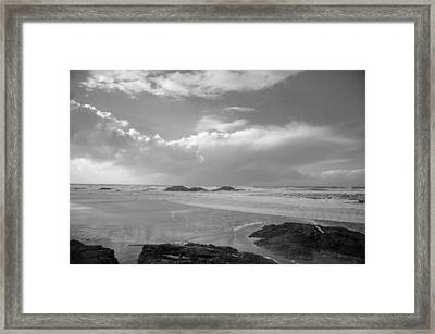 Storm Approaching Framed Print by Roxy Hurtubise