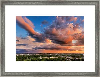 Storm Approaching Framed Print by Celso Bressan