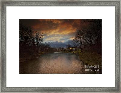 Storm Approaching Framed Print by Marco Crupi