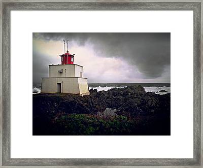 Storm Approaching Framed Print by Micki Findlay
