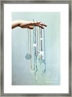Storm At Hand Framed Print by Catherine MacBride