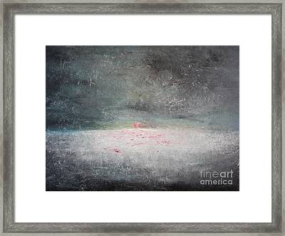 Storm At Sea Framed Print