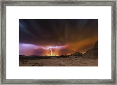 Storm Bardenas Framed Print