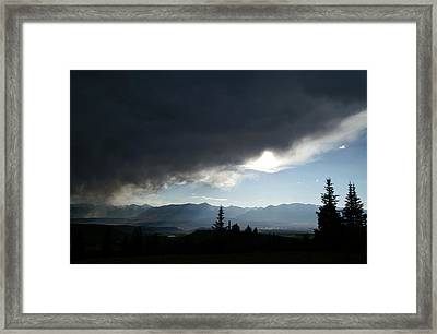 Storm Blows Over Framed Print by Jeremy Rhoades