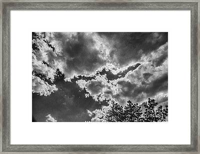 Storm Break Framed Print
