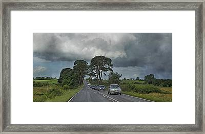 Irish Country Storm Framed Print