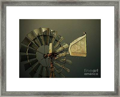 Storm Brewing Framed Print by Joe Jake Pratt