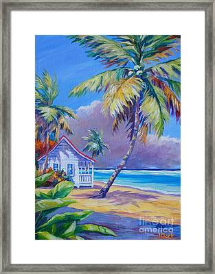 Storm Brewing Framed Print by John Clark